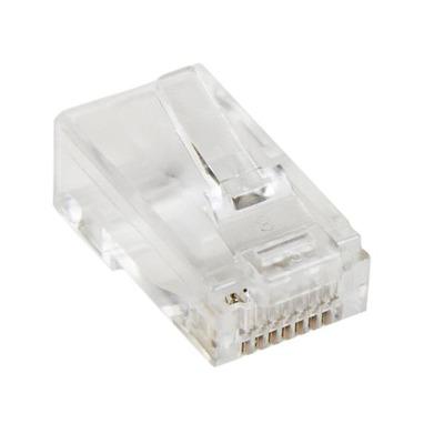 StarTech.com Cat5e RJ45 gevlochten modulaire stekkerconnector verpakking met 50 stuks Kabel connector