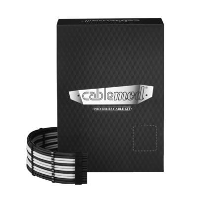 Cablemod C-Series PRO ModMesh Cable Kit for Corsair RMi/RMx/RM - Zwart,Wit