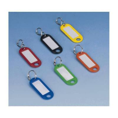Wedo sleutehanger: Sleutellabel Assorti, Ring, ø 15 mm (verpakking 100 stuks) - Multi kleuren