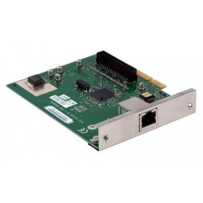 Lexmark printer server: MarkNet N8000 Fast Ethernet netwerkkaart - Groen, Zilver