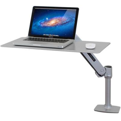 Ergotron notebooksteun: WorkFit-P, Sit-Stand Workstation - Zilver