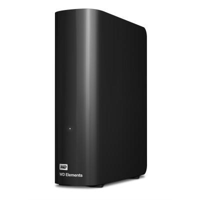 Western Digital externe harde schijf: WD Elements Desktop 3.5 Inch Externe HDD, 5TB - Zwart