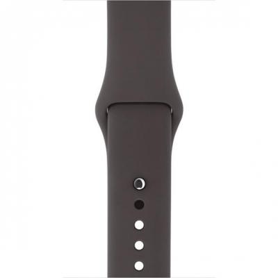 Apple horloge-band: Watch 42mm, Cacao, S/M&M/L - Bruin, Grijs