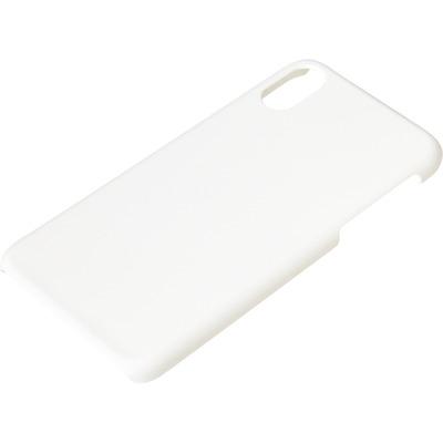 Sandberg Cover iPhone X/XS hard White Mobile phone case - Wit