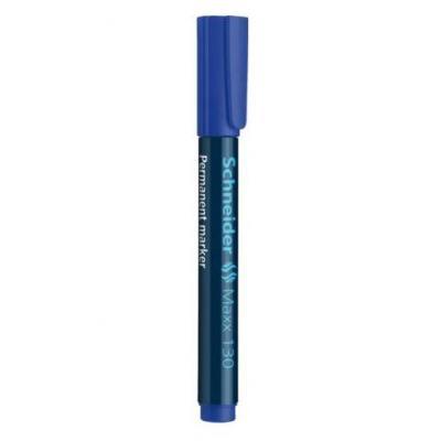 Schneider marker: Maxx 130 - Zwart, Blauw
