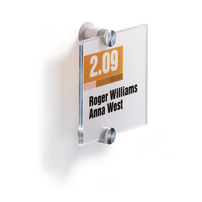 Durable Crystal Sign 105 X 105 Mm