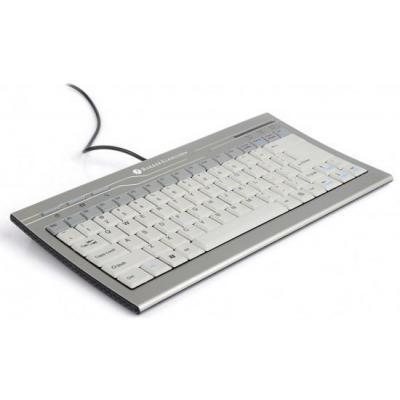 Bakkerelkhuizen C-board 810 US toetsenbord - Grijs, QWERTY