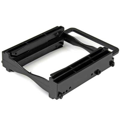 """StarTech.com Dubbele 2.5"""" SSD/HDD montagebeugel voor 3.5"""" schijfstation gereedschapsloze installatie ....."""