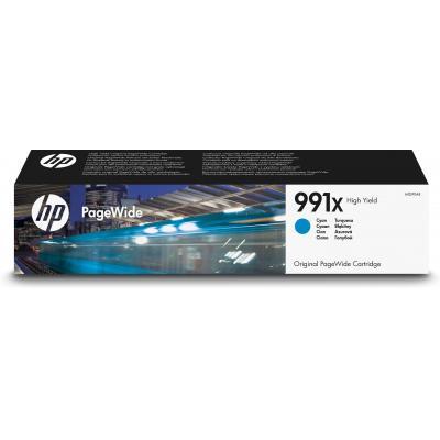 Hp inktcartridge: 991X High Yield Cyan Original PageWide - Cyaan