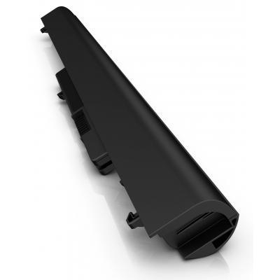 Hp batterij: OA04 4-cels notebookbatterij - Zwart