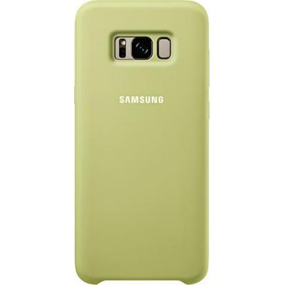 Samsung mobile phone case: Galaxy S8+ Silicone Cover Groen