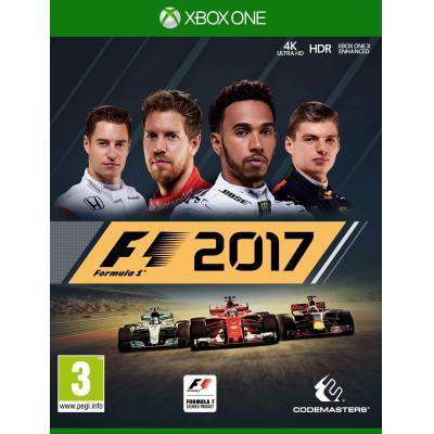 Codemasters game: Formula 1 (F1 2017)  Xbox One