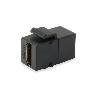 Equip HDMI Keystone Coupler, Black Kabel adapter - Zwart
