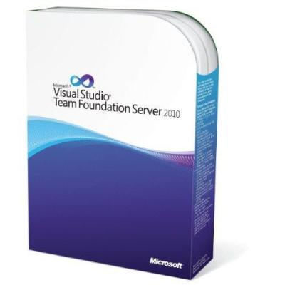 Microsoft software: Visual Studio Team Foundation Server 2010, MLP, User CAL, EN