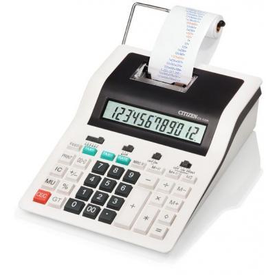 Citizen calculator: CX-123N - Zwart, Wit