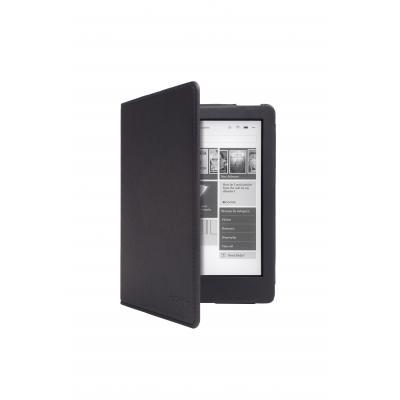 Gecko e-book reader case: Kobo Aura Edition 2 cover Luxe Black - Zwart