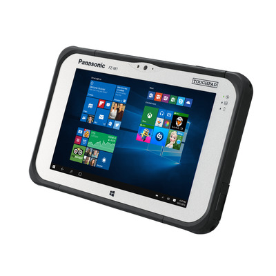 Panasonic Toughpad FZ-M1 Tablet - Zwart, Zilver