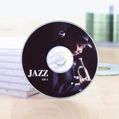 Herma etiket: Inkjet CD labels A4 Ø 116 mm white paper matt 50 pcs. - Wit