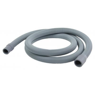 Hq keuken & huishoudelijke accessoire: Outlet hose 21 mm straight - 19 mm straight 1.80 m - Grijs
