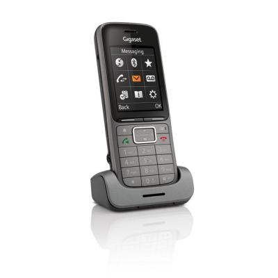 Gigaset SL750H PRO Telephone headset - Zwart, Grafiet