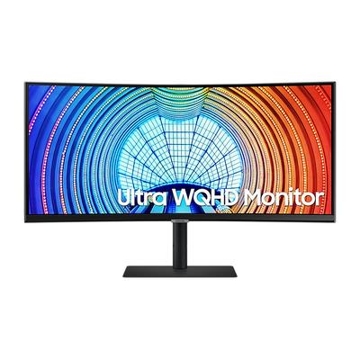 """Samsung S65UA 34"""" Curved Ultra WQHD Monitor - Zwart"""