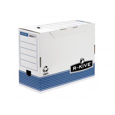 Fellowes archiefdoos: Prima 150mm A4 transfer archiefdoos - blauw - Blauw, Wit