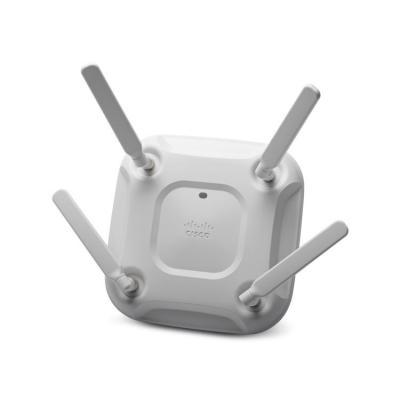 Cisco 802.11ac (up to 1.3 Gbps), 6dBi (2.4/5GHz), Gigabit LAN, PoE/PoE+ (802.3af/802.3at), External antenna, 512MB .....