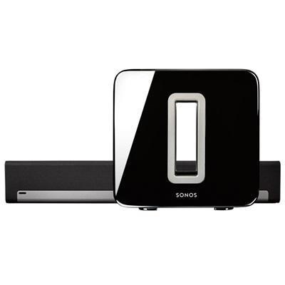 Sonos luidspreker set: 3.1 Home Cinema set Systeem inclusief PLAYBAR en SUB - Zwart, Zilver