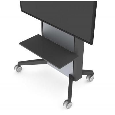 Sms smart media solutions multimedia accessoire: Presence Shelf, 12kg Max, Anthracite Grey - Antraciet