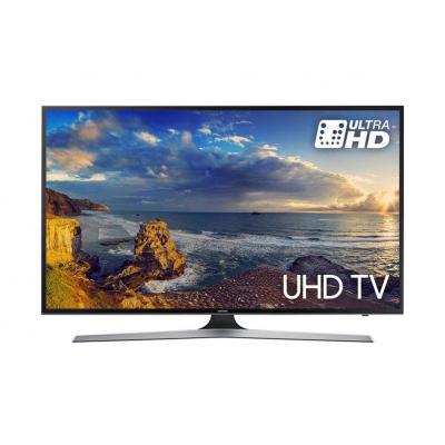 Samsung led-tv: UE49MU6100W - Zwart, Zilver