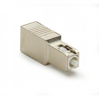 Black Box M/F SC, UPC, 20dB Fiber optic adapter - Goud