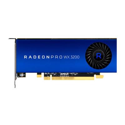 AMD Radeon Pro WX 3200 Videokaart - Blauw,Roestvrijstaal