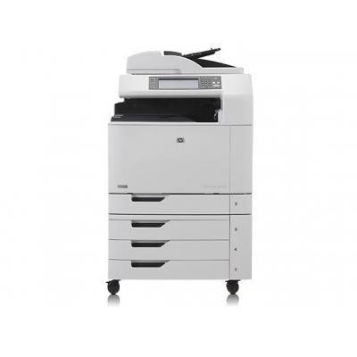 HP multifunctional: LaserJet CM6030f - Zwart, Cyaan, Magenta, Geel
