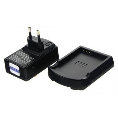 2-power oplader: PDA Battery Charger, 230V, EU, Black - Zwart