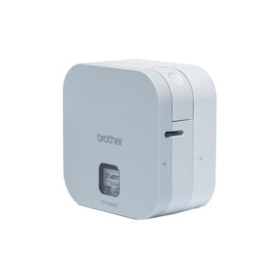 Brother Bureaumodel voor TZe-tapes van 3.5 tot 12 mm - 180 dpi - Bluetooth Labelprinter - Wit