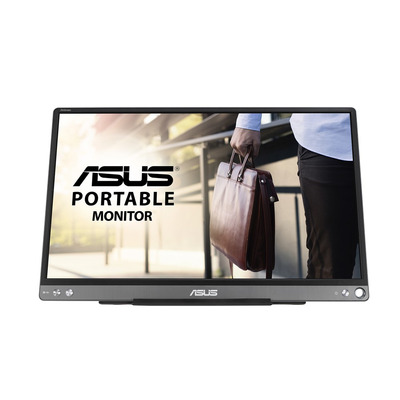 "ASUS ZenScreen MB16ACE 15,6"" FHD IPS anti-reflectie Portable Monitor - Grijs"