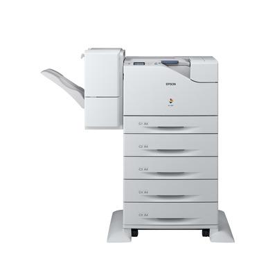 Epson WorkForce AL-C500DXN Laserprinter - Zwart, Cyaan, Magenta, Geel