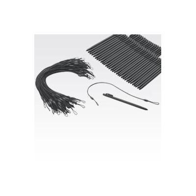 Zebra (50-Pack, Non Spring LD, with Tether) for MC95 Stylus - Zwart