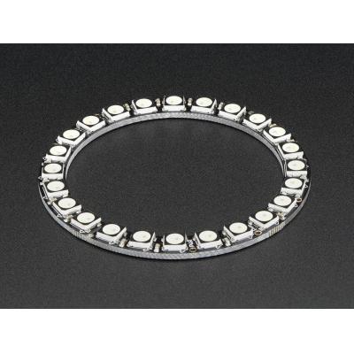 Adafruit decoratieve verlichting: 24x 5050 RGBW LEDs, Cool White, 6000K - Zwart