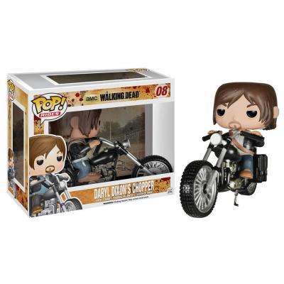 Funko video game toys & figure: Pop! Rides: The Walking Dead - Daryl Dixon's Chopper - Multi kleuren