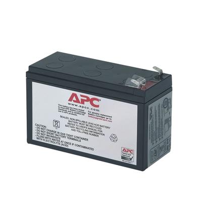 APC Batterij Vervangings Cartridge RBC40 UPS batterij - Zwart