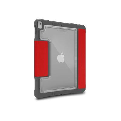 """STM Dux Plus Apple iPad 7th Gen 10.2"""" Tablet case - Rood"""
