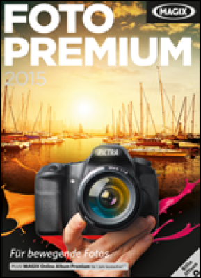 Magix grafische software: Photo Premium 2015 (download versie)