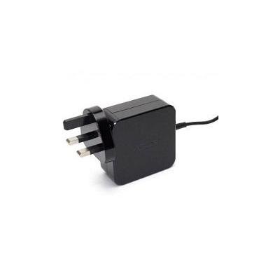 ASUS Power Adapter 45W, 19V, 2-Pin, UK, Black netvoeding - Zwart