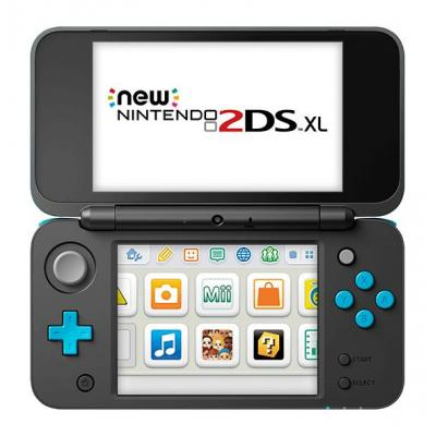 Nintendo portable game console: New 2DS XL - Zwart, Turkoois