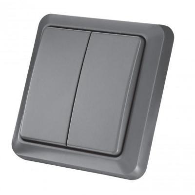 Klikaanklikuit elektische schakelaar: AGST-8802 - Grijs