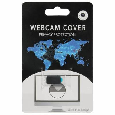 CP-CASES Zwart Webcam Cover - Zwart / Black Mobile phone case