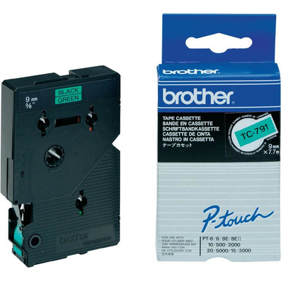 Brother TC-791 Labelprinter-tapes