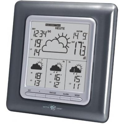 Technoline weerstation: Direct Weather Station, anthracite - Antraciet