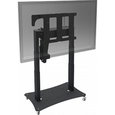 SmartMetals Tip & Touch statief (electrische tip functie) (H=660/1320mm) TV standaard - Zwart